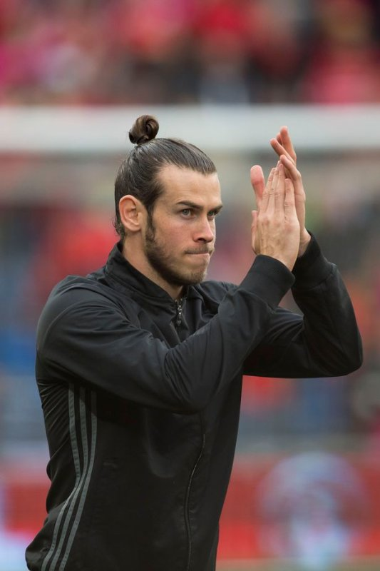 Photos de Gareth Bale avant le match Pays de Galles - Georgie (09.10.16)