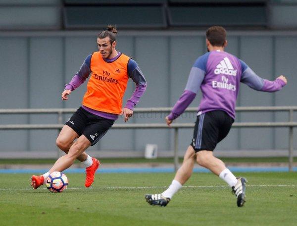 Photos de Gareth Bale à l'entraînement avec le Real Madrid (12.10.16)