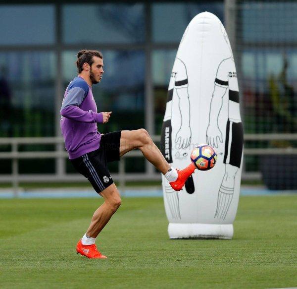 Photos de Gareth Bale à l'entraînement avec le Real Madrid (13.10.16)