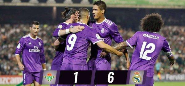 LIGA : 8ème journée : Betis - Real Madrid (15.10.16)