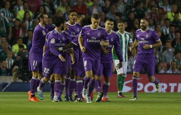 Photos de Gareth Bale pendant le match Betis - Real Madrid (15.10.16)