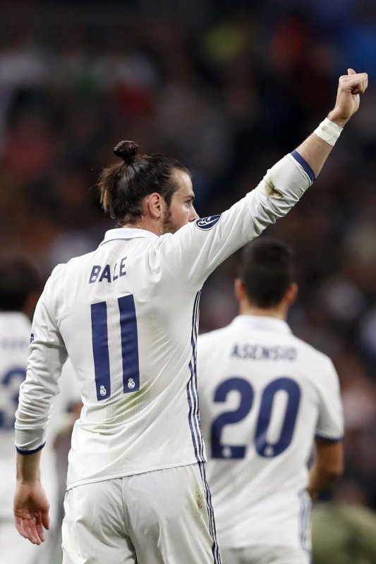 Photos de Gareth Bale pendant le match Real Madrid - Legia Varsovie (18.10.16)