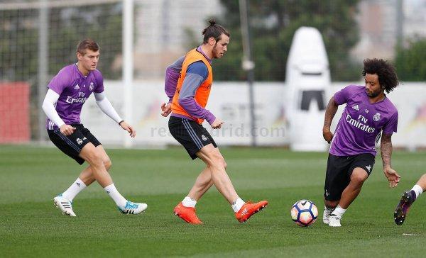 Photos de Gareth Bale à l'entraînement avec le Real Madrid (20.10.16)
