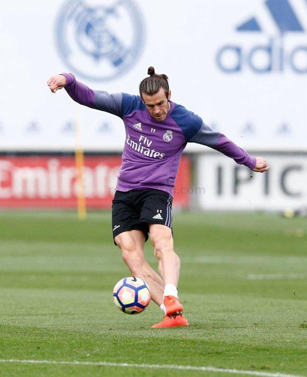 Photos de Gareth Bale à l'entraînement avec le Real Madrid (21.10.16)