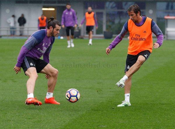 Photos de Gareth Bale à l'entraînement avec le Real Madrid (22.10.16)
