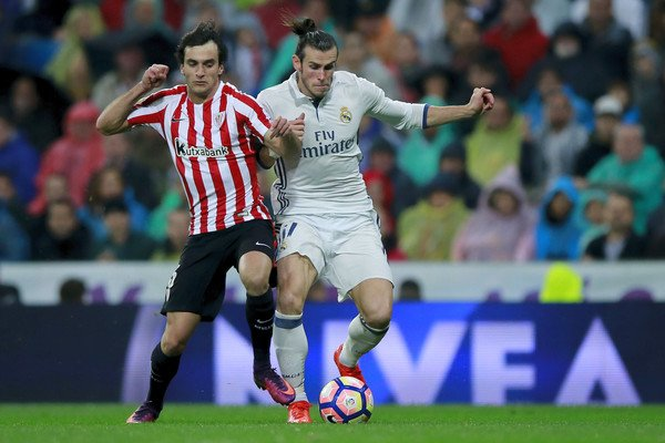 Photos de Gareth Bale pendant le match Real Madrid - Athletic Bilbao (23.10.16)