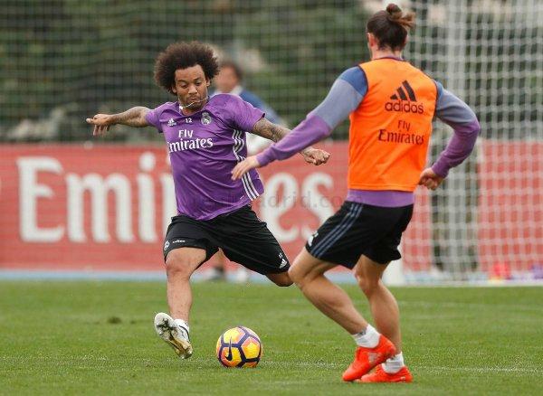 Photos de Gareth Bale à l'entraînement avec le Real Madrid (28.10.16)