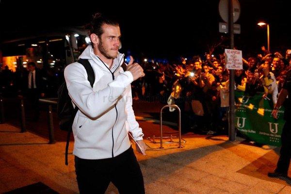 Arrivée de Gareth Bale et l'équipe à Vitoria (28.10.16)