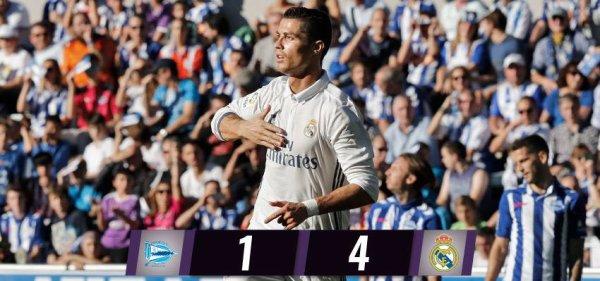 LIGA : 10ème journée : Alaves - Real Madrid (29.10.16)