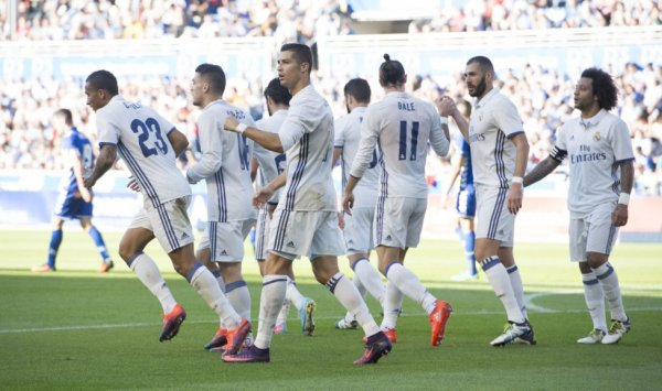 Photos de Gareth Bale pendant le match Alaves - Real Madrid (29.10.16)