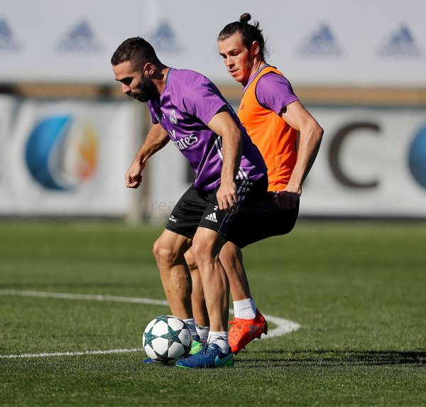 Photo de Gareth Bale à l'entraînement avec le Real Madrid (31.10.16)