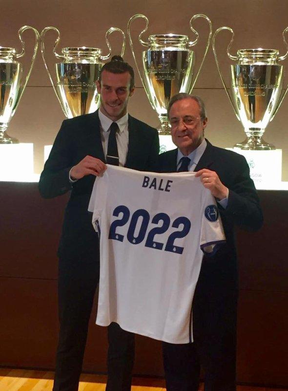 Facebook de Gareth Bale (31.10.16)