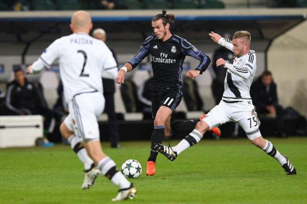 Photos de Gareth Bale pendant le match Legia Varsovie - Real Madrid (02.11.16)