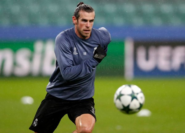 Photos de Gareth Bale avant le match Legia Varsovie - Real Madrid (02.11.16)