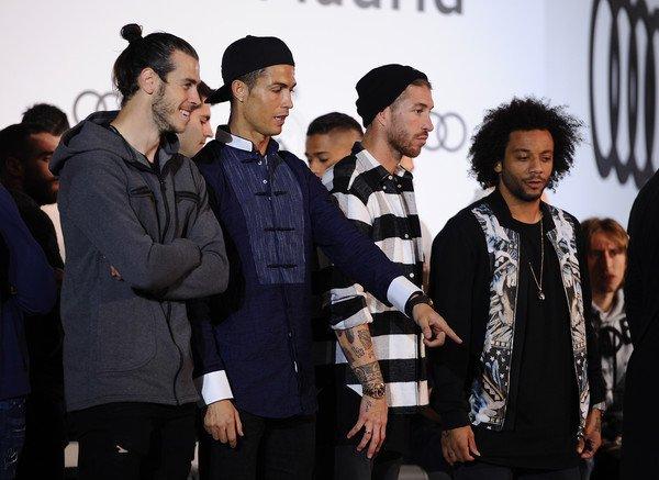 Photos de Gareth Bale et l'équipe à l'évènement Audi (04.11.16)