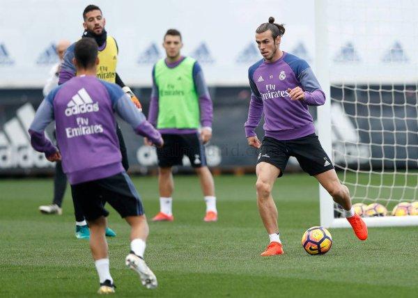Photos de Gareth Bale à l'entraînement avec le Real Madrid (05.11.16)