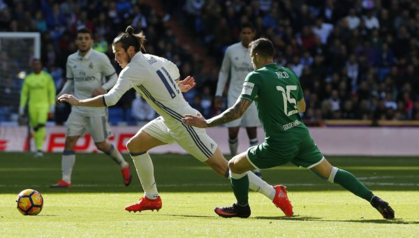 Photos de Gareth Bale pendant le match Real Madrid - Leganés (06.11.16)