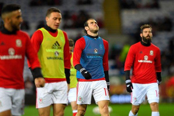 Photos de Gareth Bale pendant le match Pays de Galles - Serbie (12.11.16)