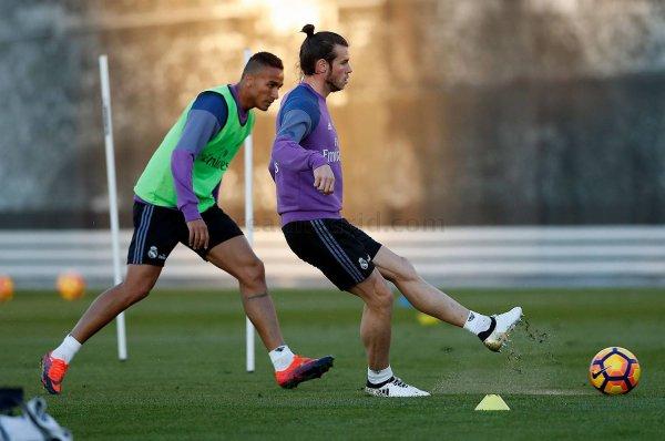 Photos de Gareth Bale à l'entraînement avec le Real Madrid (17.11.16)