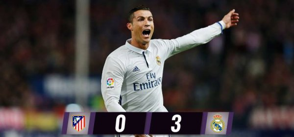 LIGA : 12ème journée : Atletico Madrid - Real Madrid (19.11.16)