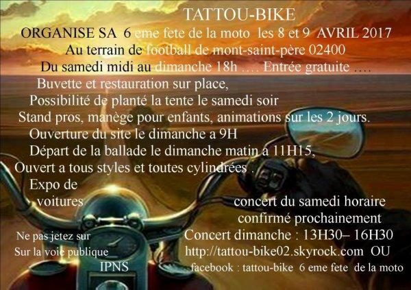 chez les tattou bike
