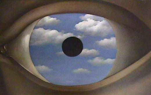 Le faux miroir ren magritte blog de musee surrealiste 18 for Rene magritte le faux miroir
