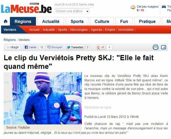 Pretty SkJ & Les Médias