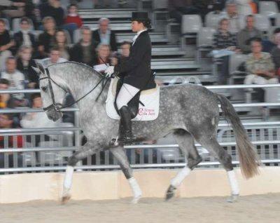 Petrus du Ventadou et moi en concours .