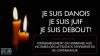 Rassemblement en hommage aux victimes des attentats terroristes de Copenhague à Bruxelles