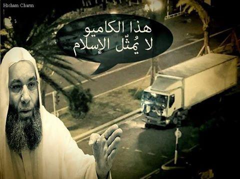 Ce camion ne représente pas l'Islam.