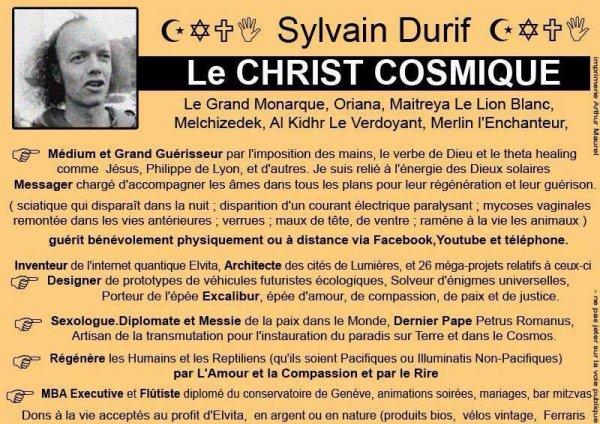 Qui ne connait pas encore notre Christ Cosmique français de renommée mondiale ?