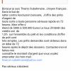 Thierry Oubahmane, cybercriminel en ligne finance.oubahmane@yahoo.com