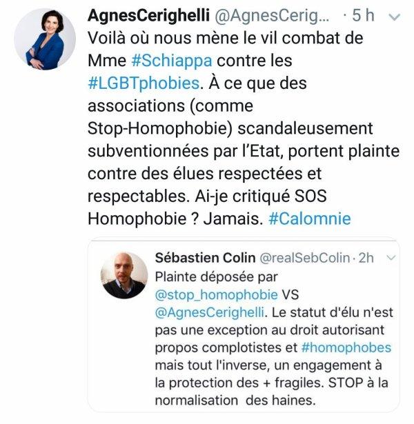 Quelle connerie homophobe va tweeter aujourd'hui Agnès Cerighelli ?
