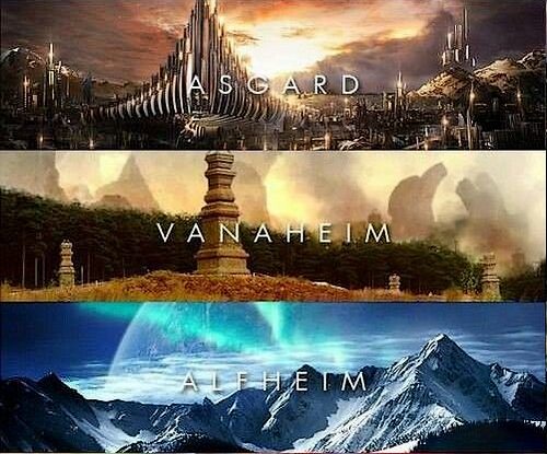Arc I : Yggdrasil et les 9 Mondes