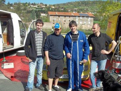 rallye des monts du lyonnais 2011!