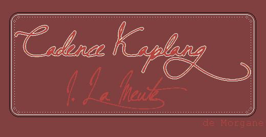 Cadence Kaplang : I. La Meute