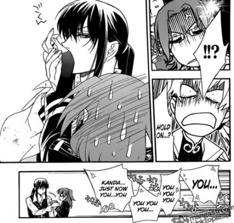 Scan 208 : My Kanda is Back !!! <3 I love Yuu