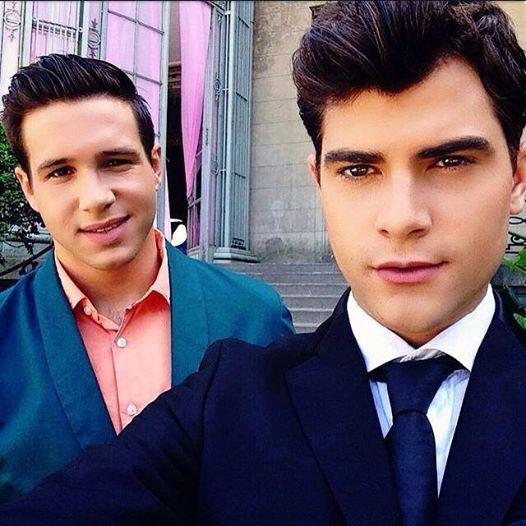 Diego et Damien Diego troppp Beauuuu