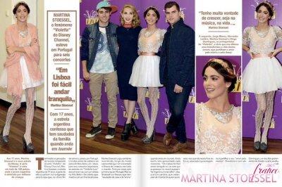Tini a dans un journal  Portugasi♥♡♥♡♡