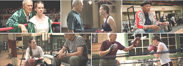 Million Dollar Baby de Clint Eastwood.