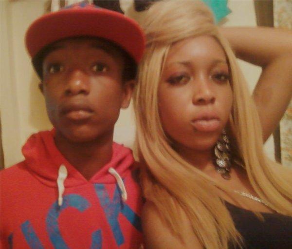 moi et ma cousine ♥
