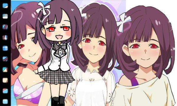 La générations 99: Shiwasara Minami, Arisawa Tomoko, Komoko Megumi et Shimene Yusoko