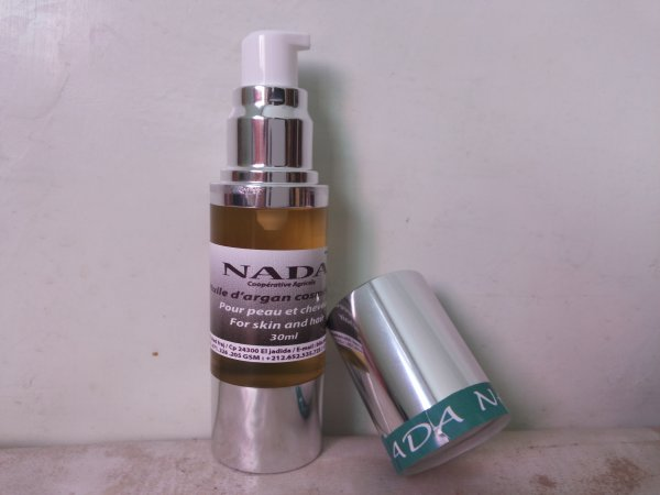 L'huile d'argan cosmétique