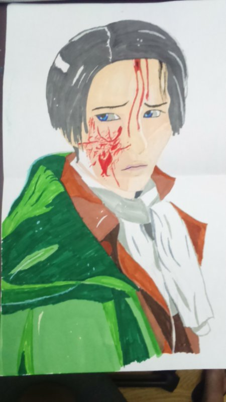 mon dessin de Levi ^^