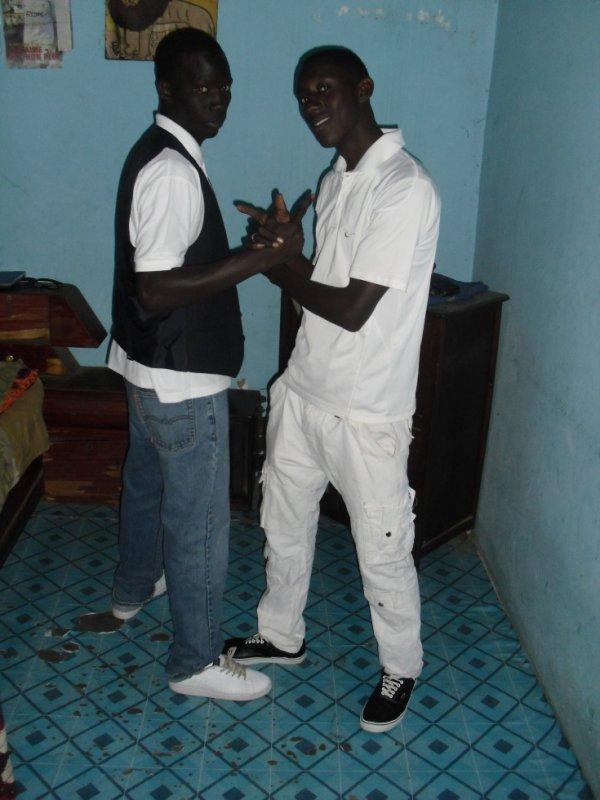 me and elhadj