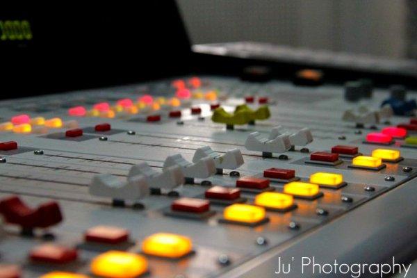 table de mixage radio