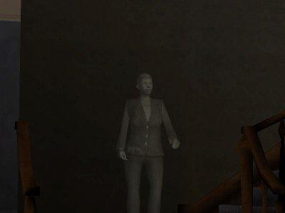 Le fantome de la mére de CJ