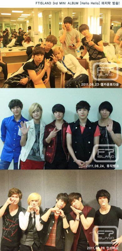Mon premier groupe Coréen