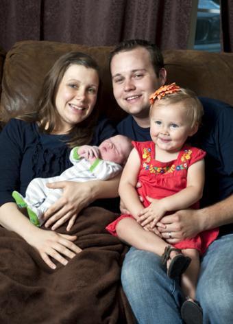Josh and Anna Duggar Welcome a Baby Boy