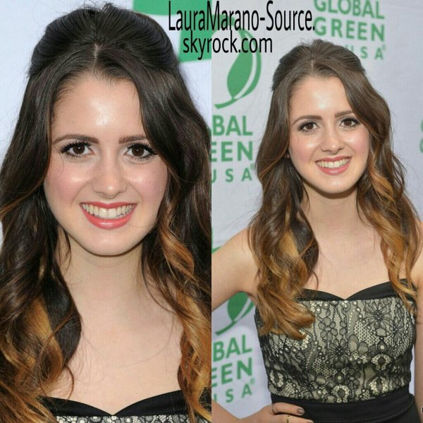 Laura Marano et sa soeur Vanessa au Global Green Millennium Awards 2013 le 8 Juin